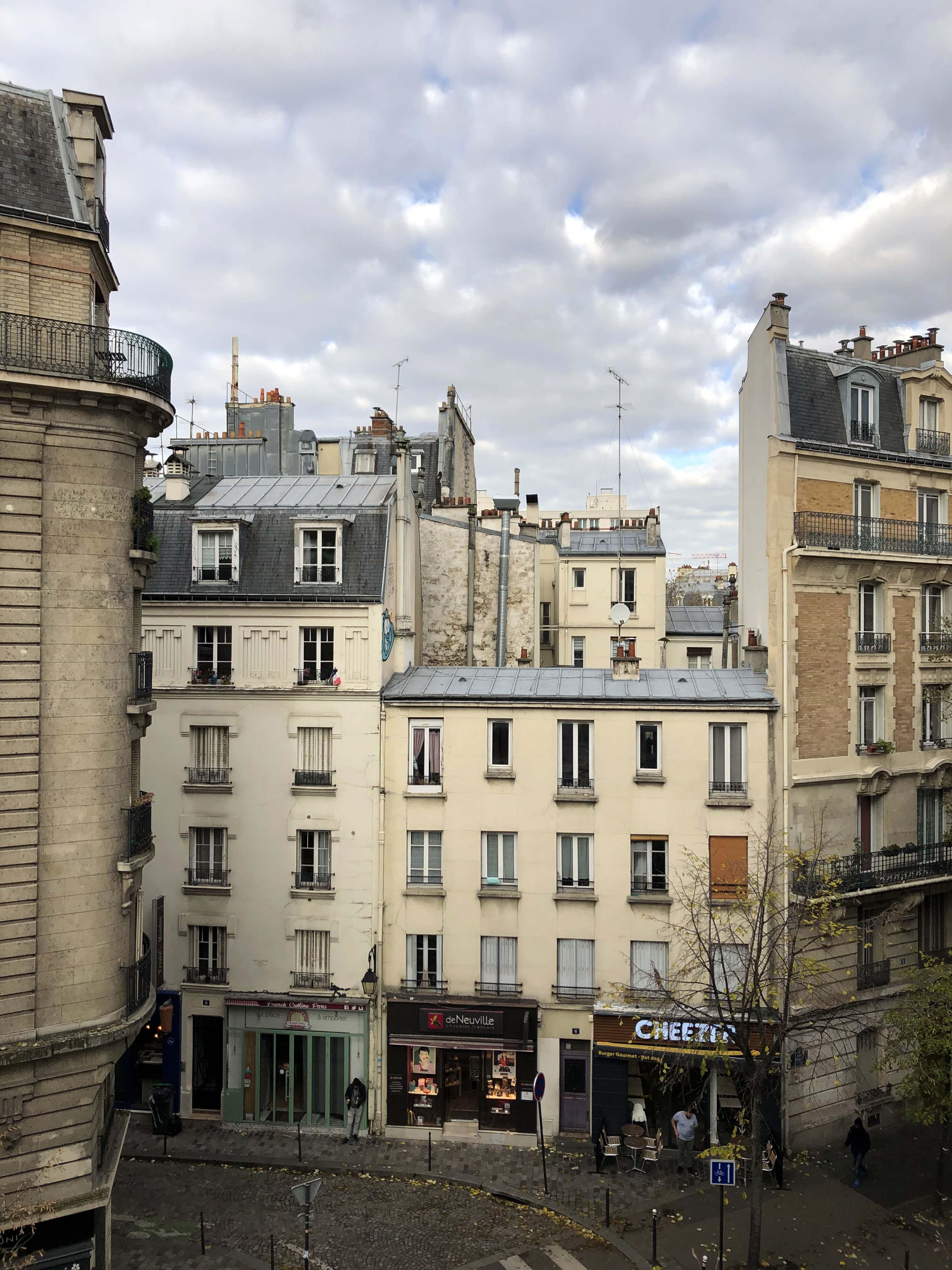 Fou の街角/The city coner of Paris where Foujita lived
