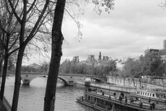 セーヌ、晩秋/la Seine, Fin de l'automne